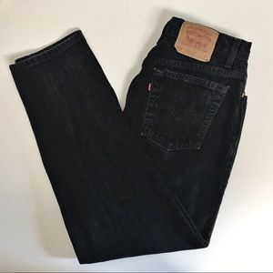 Levi's 551 Jeans 14M Relaxed Fit Tapered High Rise